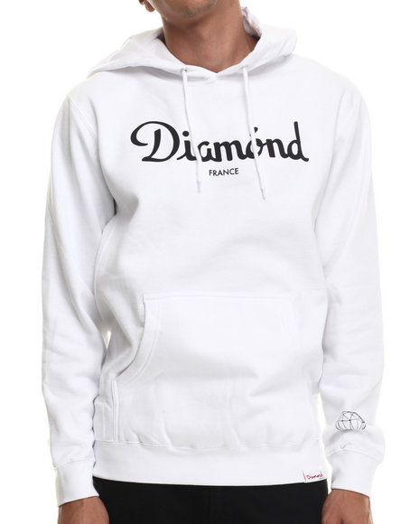Diamond Supply Co White Hoodies