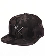 Hats - Crosscut Full Metal Snapback Cap