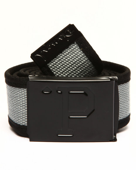 Diamond Supply Co Men Un-Polo Clamp Belt Grey - $24.99