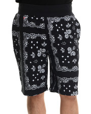 Men - Bandana Sweatshorts