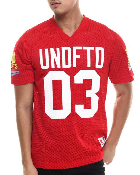 Undftd - Men Red Bad Sports Jersey