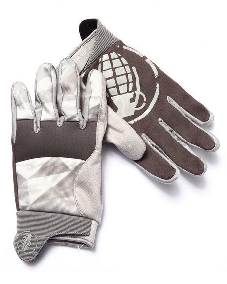 Grenade Grey Gloves & Scarves
