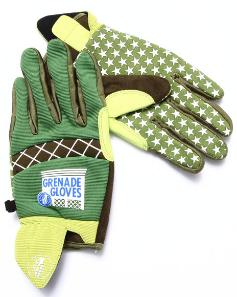 Grenade Green Gloves & Scarves