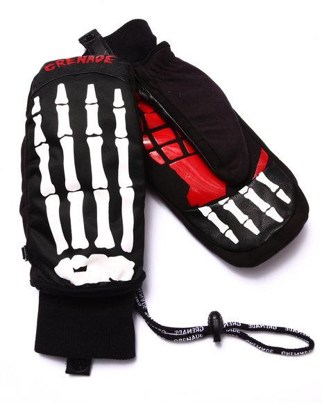 Grenade - Men Black Bones Insulated Mitts