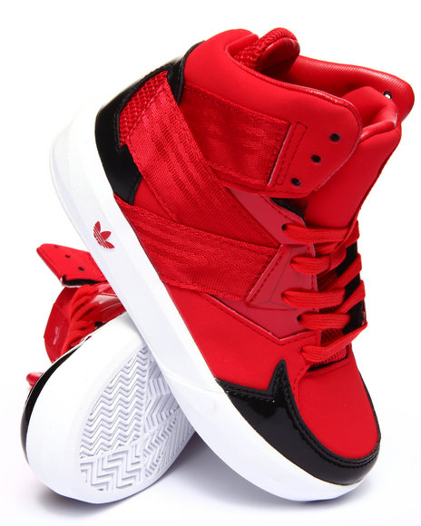 Adidas - Boys Red C-10 C Sneakers (11-3)