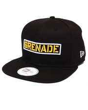 Buyers Picks - Grenade Wordmark New Era Snapback Cap