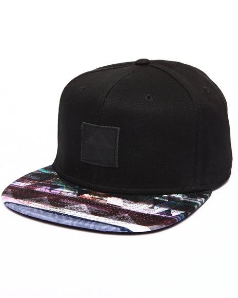 Lrg Men Multi-Stripe Hat Black