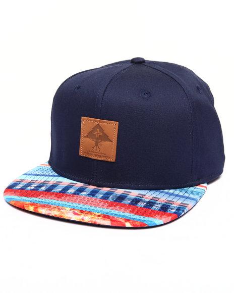 Lrg Men Multi-Stripe Hat Navy - $30.00