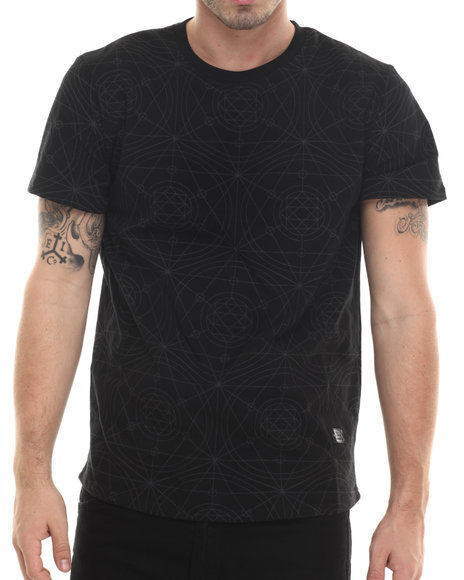 LRG - Men Black L-Transit T-Shirt