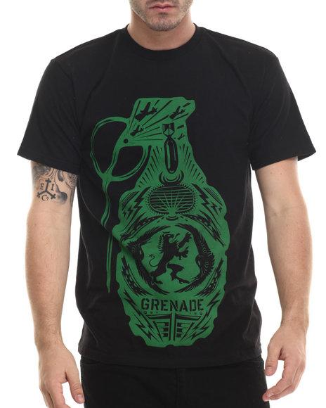 Grenade - Men Black Crest Bomb Tee