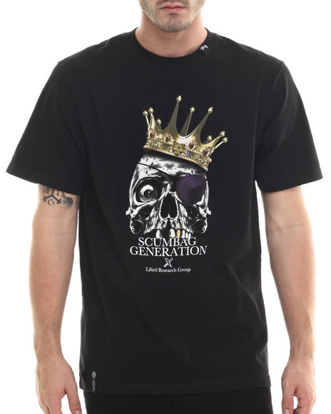 LRG - Men Black Scumbag T-Shirt