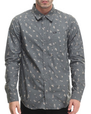LRG - Research Collection Printed L/S Button-Down