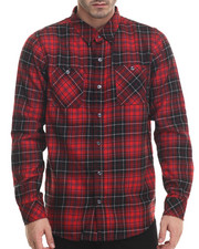 LRG - Heavy Metal Plaid L/S Button-Down