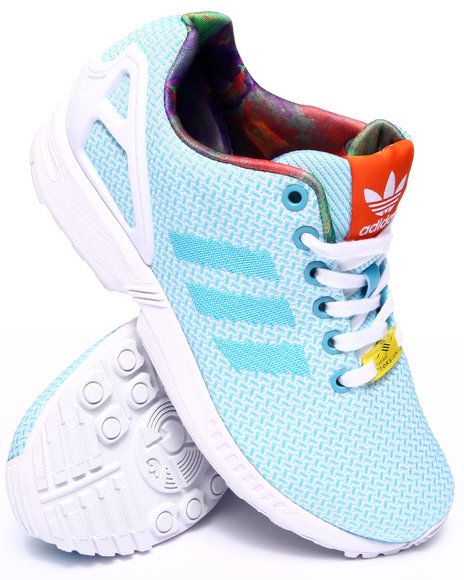 Adidas - Women Light Blue Zx Flux Weave W Sneakers
