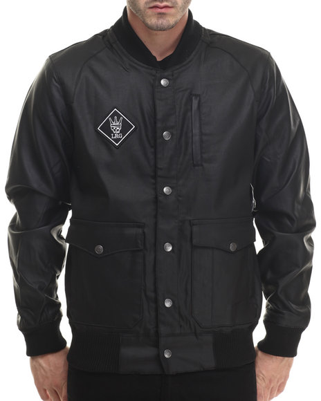 Lrg - Men Black Road To Hell Jacket