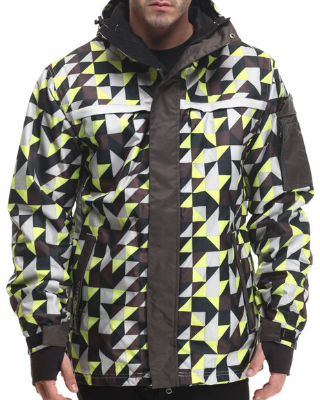 Grenade Green Heavy Coats