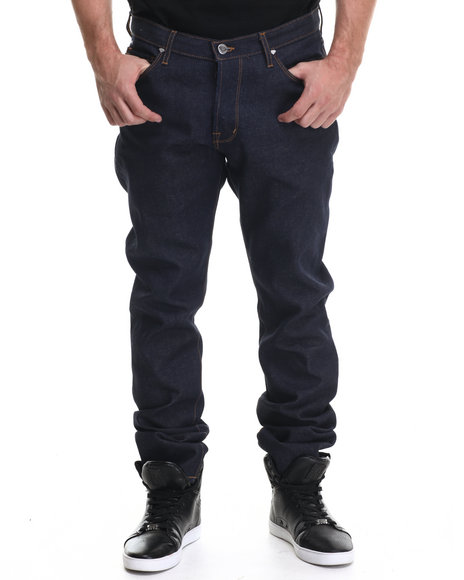 Diamond Supply Co - Men Raw Wash Brilliant Cut Relaxed Fit Denim Jeans