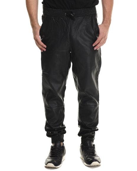 Lrg - Men Black Blackout Pu Jogger