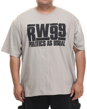 Men - Politics Tee (B&T)