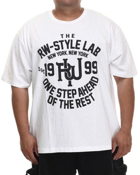 Rocawear - Men White Rw Style Lab Tee - $17.99