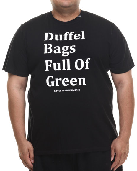 LRG - Men Black Duffle Bag T-Shirt (B & T)