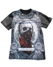 Boys - SUBLIMATED SKULL TEE (8-20)