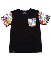 Boys - COMIC POCKET TEE (8-20)