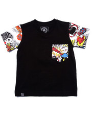 Akademiks - COMIC POCKET TEE (4-7)