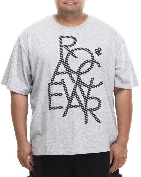 Rocawear - Men Grey Rocawear Geo Tee (B&T)