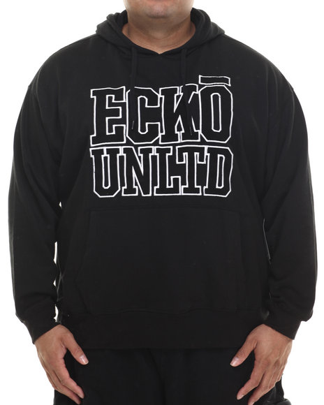 Ecko - Men Black Branded Pop Hoodie (B&T)