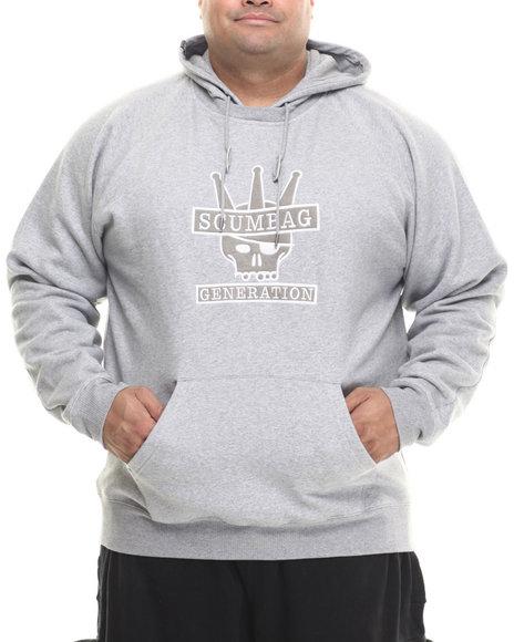 Lrg - Men Grey Scumbag Generation Pullover Hoodie (B&T)