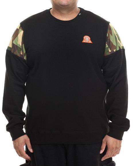 Lrg - Men Black Lifted 47 Crewneck Sweatshirt (B&T)