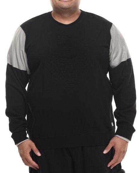 Ur-ID 199976 LRG - Men Black 47 Lions Sweatshirt (B&T)