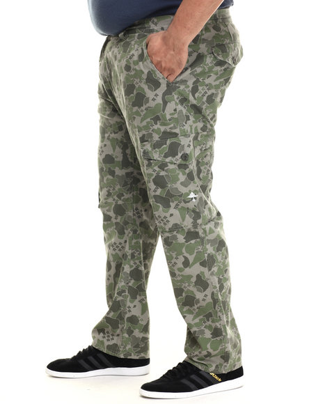 Lrg - Men Camo Research Collection Cargo Pant (B&T)