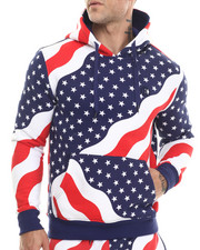 Hudson NYC - Stars & Stripes Pullover Hoodie