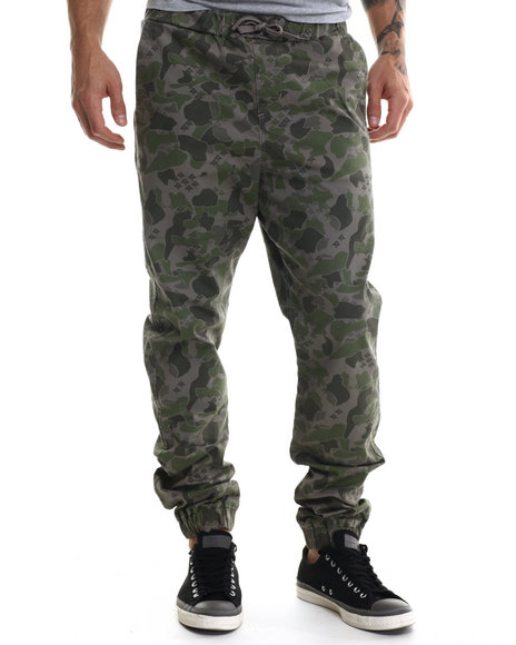 Lrg - Men Camo Research Collection Jogger Pant