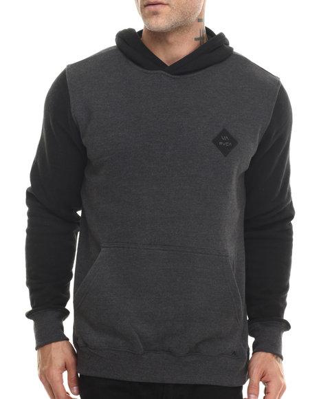 Rvca - Men Black Gothard Pullover Hoodie