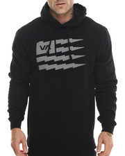 The Skate Shop - Flag Bolt Fleece Pullover Hoodie