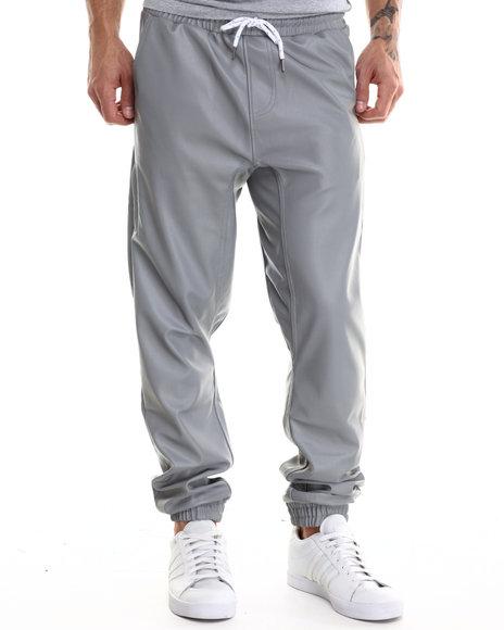 Lrg - Men Silver We Flex 3M Jogger