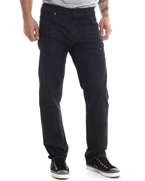 Lrg - Men Black Core Lrg True Straight Denim