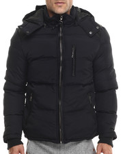 Buyers Picks - Marqt Faux Leather - Trimmed Hooded Coat