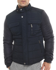 Men - Marqt Quilted Two - Toned Nylon Jacket