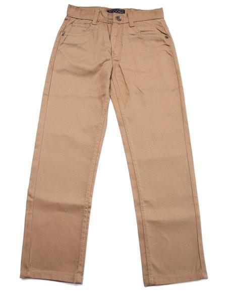 Coogi - Boys Khaki Twill Pants (8-20)