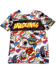 Akademiks - ALL OVER COMIC PRINT TEE (8-20)