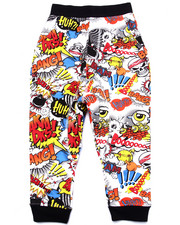Bottoms - COMIC PRINT JOGGERS (4-7)
