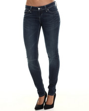 Bottoms - Low DC Skinny Jean W/curve id low rise