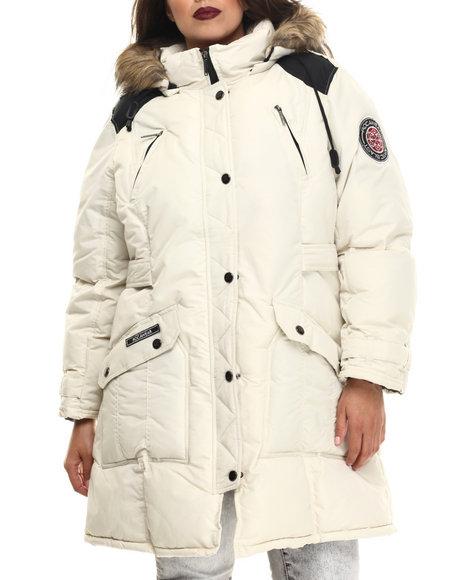 Rocawear Cream Heavy Coats