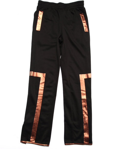 Akademiks - Boys Black Gold Reflective Jogger (8-20)