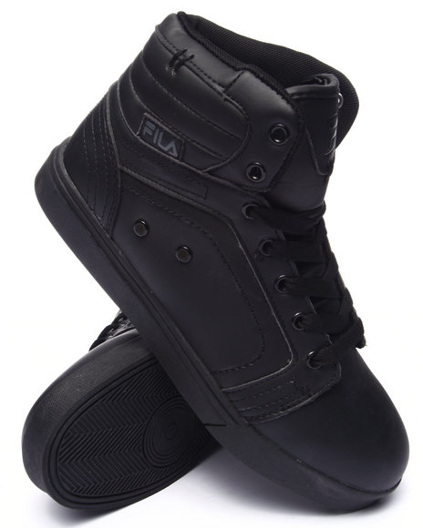 Fila - Men Black Wanderer High Top Sneaker
