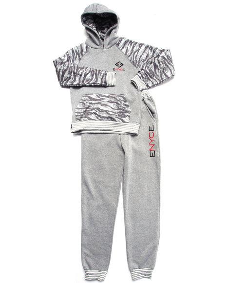 Enyce - Boys Grey Camo Jog Set (8-20)